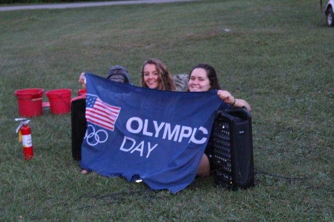 Summer camp olympics Day