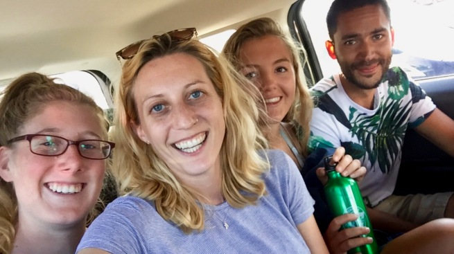summer camp USA counsellors road trip