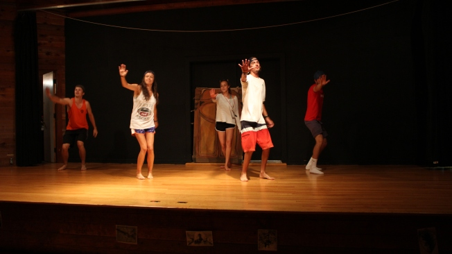 Summer camp counselor performance