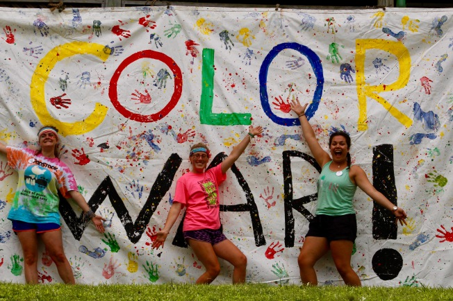 Color War! Summer camp