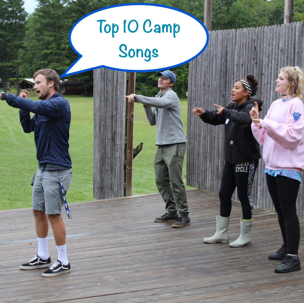 Top 10 Favourite Camp Songs