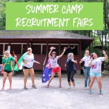 summer camp recruitment fairs