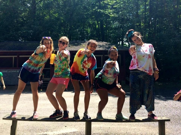 summer camp tie dye