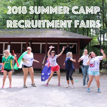summer camp recruitment fair