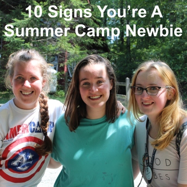 Summer camp newbie