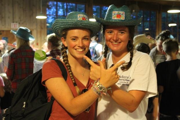 summer camp counselor friends