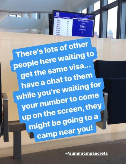 Summer camp USA Embassy London