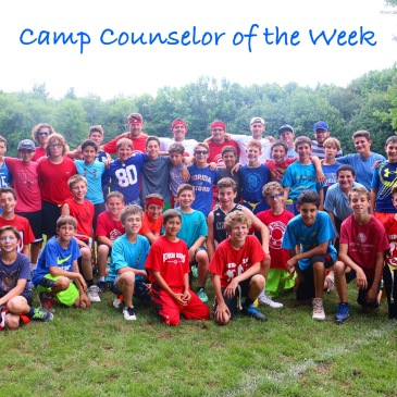 camp counselor of the week