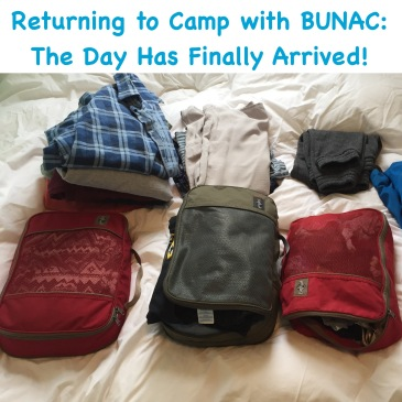 bunac summer camp monthly post packing