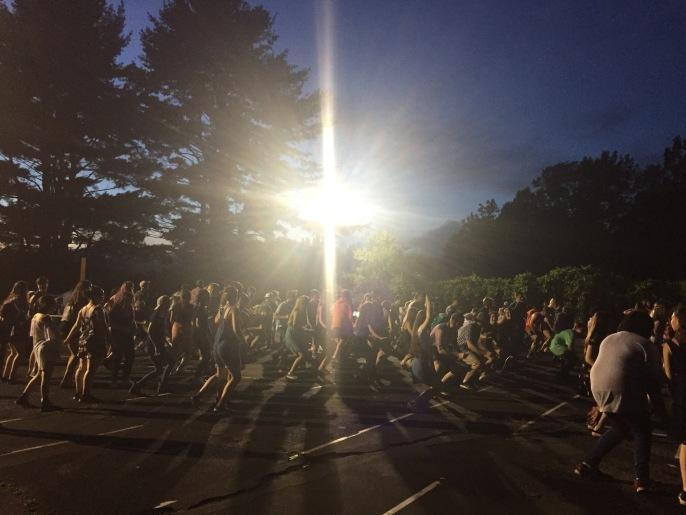 Summer camp usa square dance