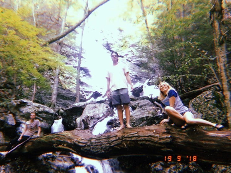 Waterfall hikes USA summer camp